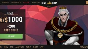 bonus king billy casino